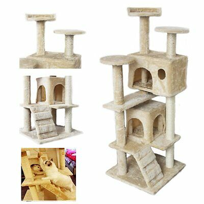 katzenkratzbaum kratzbaum katzenzubeh r krallenbaum spielbaum kletterbaum katzen eur 37 95. Black Bedroom Furniture Sets. Home Design Ideas