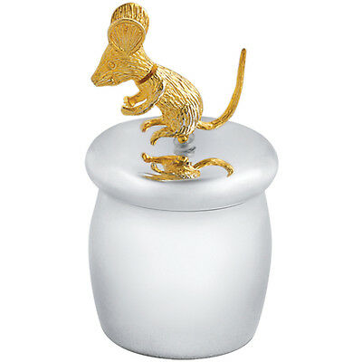 Tooth Fairy Box With Gold Plated Moving Mouse 925 Silver New From Ari D Norman