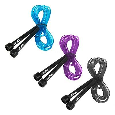 JLL® Skipping Rope 3m /10ft Adjustable Fitness Speed Rope Jump Boxing Exercise