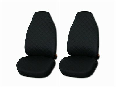 Front Seat Covers for Mazda 6 , 626 Black
