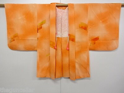 Antique / Vintage Japanese Kimono, Unused Haori / Nice, Super Clean Material