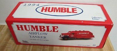 1994 Humble Airflow Tanker Coin Bank with working lights #7A6