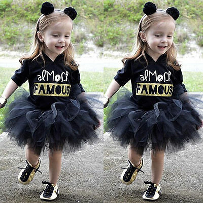 One-Piece Toddler Baby Girl Kids Hoodie Clothes Hooded Tutu Dresses Party Skirt