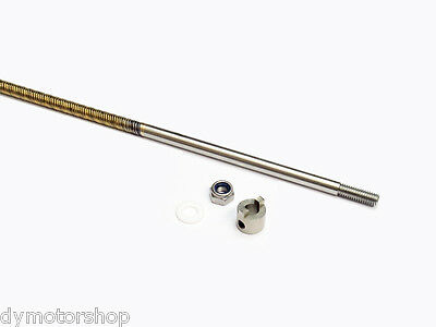 """1/4"""" flexible cable with stainless steel stub shaft 800mm right lay for RC Boat"""