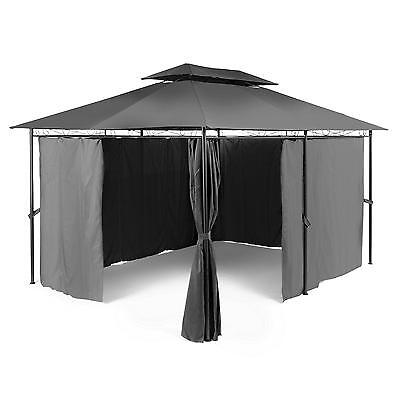 Gazebo Party Summer Tent Marquee Outdoor Festival Steel Polyester *free P &p*