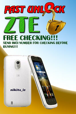 AT&T ZTE ALL MODELS Code Factory Unlock Service
