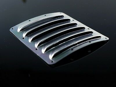 Aluminum Louver Air Inlet Cooling Panel 120mm x 100mm x 0.5mm (big) for RC Model