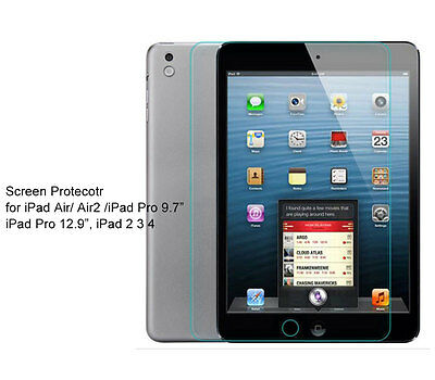 """Regular Ultra Clear/Tempered Glass Screen Protector For iPad 9.7""""(2017)"""