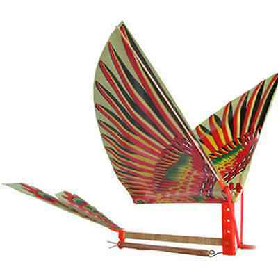 1Set DIY Kid Rubber Band Power Air Plane Ornithopter Birds Models Kites Baby Toy