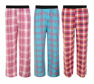 Girls Pyjama Bottoms Lounge Pants Night Wear Ex-Store 9-14 Years New