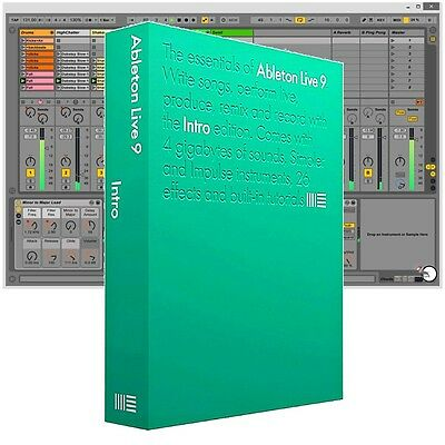 Ableton Live 9 DAW Recording Music Production Software Download Intro