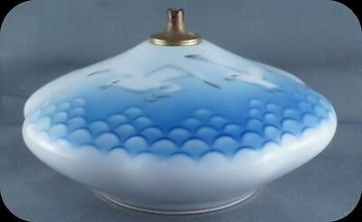 B and G Bing and Grondahl Seagull Oil Lamp #373