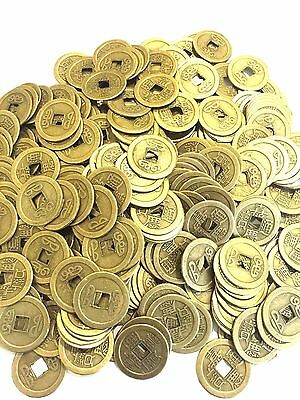 50 Lot Feng Shui Coins Chinese Lucky Fortune Coins Ching Money