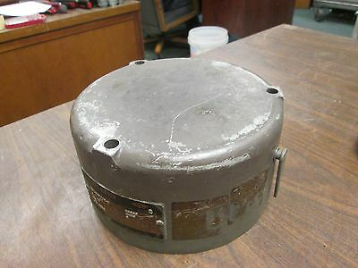 Reuland Model 29B7 Magnetic Brake OBCAZ 25 ft/lbs Torque 460V 3Ph 60Hz Used