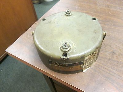 Reuland Model 29B4 Magnetic Brake OAEA 6 ft/lbs Torque 460V 3Ph 60Hz Used
