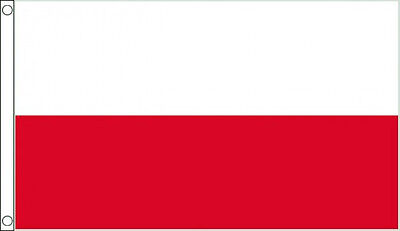 Poland Flag - Large 5 x 3' Polish National Country Team Football Euro 2016 IE