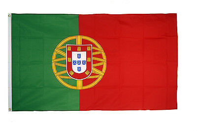Portugal Flag - Large 5 x 3' Portuguese Country Team Football Euro 2016 IE