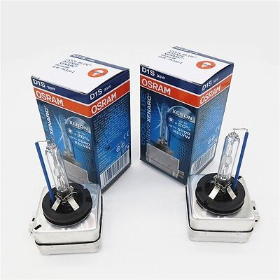 2x D1S OSRAM CBI COOL BLUE INTENSE Xenarc35W Xenon HID bulbs 5500K car headlight