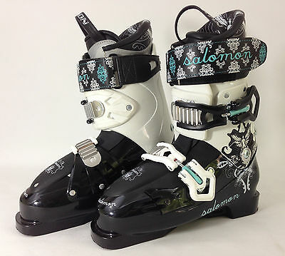 Salomon Poison Ladies Ski Boots Size 25.5
