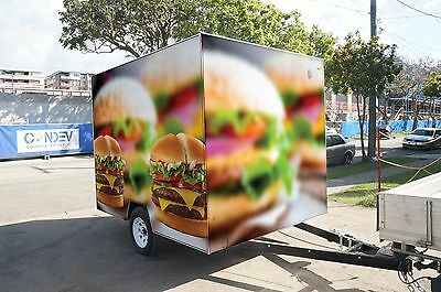 Burger and Chips Takeaway Mobile Business For Sale