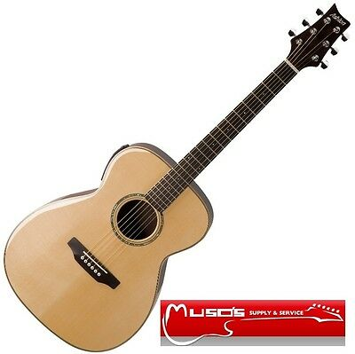 Ashton OM35SCEQ Solid Top Acoustic/Electric Guitar $439