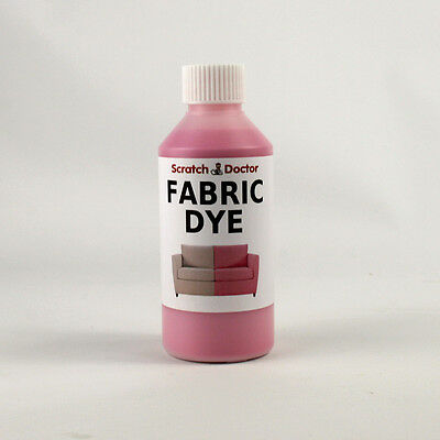 PINK Fabric Dye for Sofa, Clothes, Denim, & more. Repairs & Re-Colours