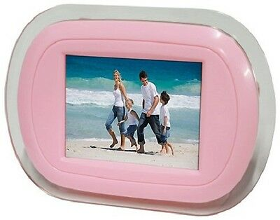 "iKool Digital Photo Frame with 3.5"" Screen in Pink iK350P"