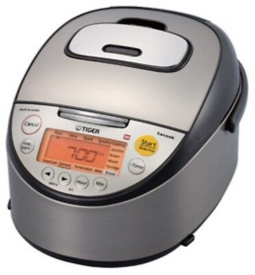 Tiger 5.5 Cup Ih Induction Heating Rice Cooker Jkt-S10A