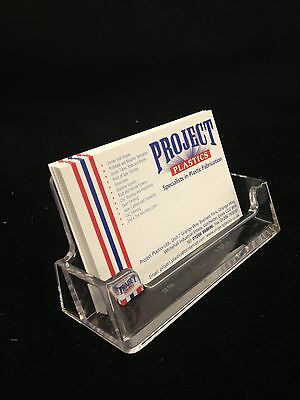 Clear Business Card Holder Landscape New