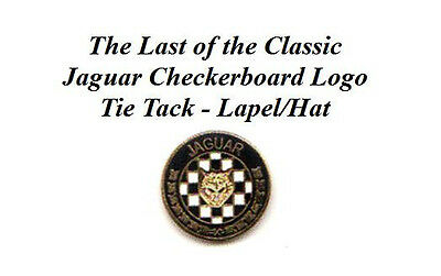 Last of the Jaguar Checkerboard Tie Tack-Lapel/Hat Pin