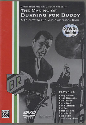 The Making of Burning for Buddy Drum 2 DVD Set Buddy Rich Tribute