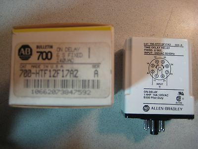 Allen-Bradley Time Delay Relay Fixed 6 sec. Bulletin type. Free Shipping