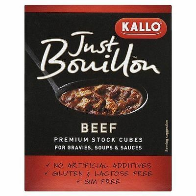Just Bouillon Beef Stock Cubes 72g
