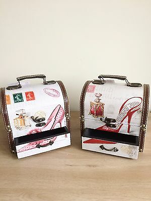 Sophia Jewellery/Make-up Case with Drawer - 2 Designs
