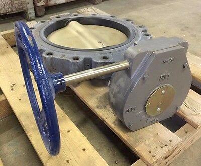 "14"" NIBCO Lugged Butterfly Valve with Gear Operator, LD1000, EPDM, 150 PSI"