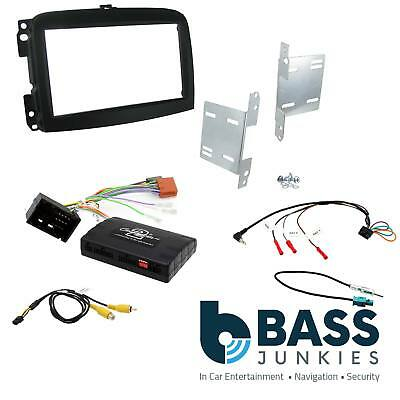 CTKVX34 ASTRA 2004 to 2011 BLACK DOUBLE DIN FASCIA STEERING WHEEL FITTING KIT