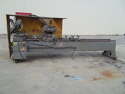 "Pressta Eisele Double Head Circular Miter Cold Saw Sawing Center 16"" Blade 16'"