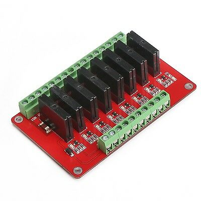 DROK DROK 5V 8 Channel Solid State Relay Module for Arduino Uno Duemilanove M...