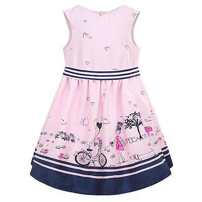 Summer New Girls Dress Kids Clothes Children Dress Princess Party Dresses