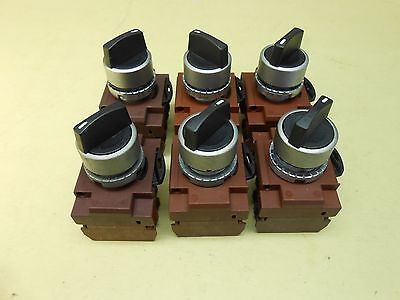 GE 3 Position Selector Switch , lot of 6