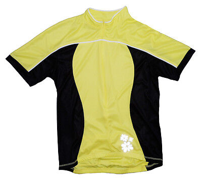 92aab8dfb Canari Finish Line Cycling Jersey Large LG L Womens Short Sleeve NEW
