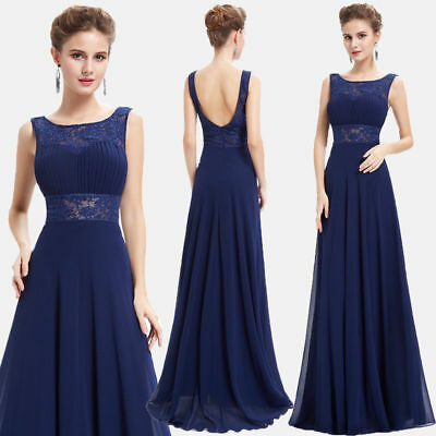 Ever Pretty US Women Long Elegant Bridesmaid Evening Party Gown Prom Dress 08741