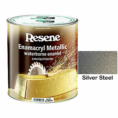 Resene Metallic Effect Paint Silver Steel Shimmer Sparkle Glitter Feature Wall