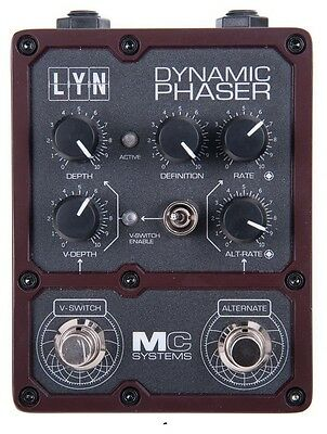 MC Systems LYN Dynamic Phaser Effects Pedal