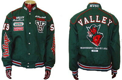 NEW! Mississippi Valley State University Devils Fraternity Twill Button Jacket