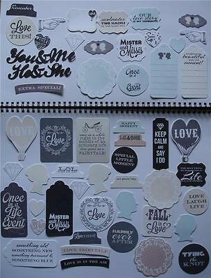 ~ Something Blue ~ Wedding COLLECTABLES 50+ Die Cuts Scrapbooking Card Kaiser