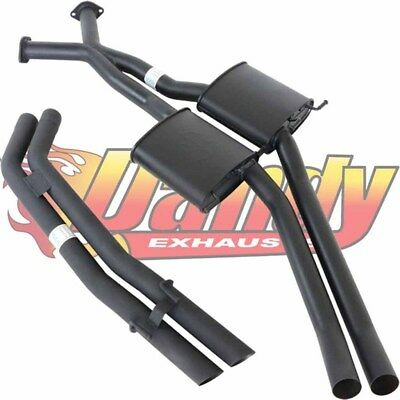 Holden Commodore Vt Vx Vy Vz V8 Twin 2.5 Inch Bolt On Cat Back Exhaust Sedan