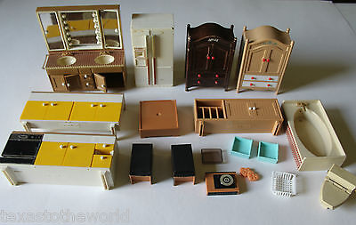 Tomy Smaller Homes Dollhouse Home and Garden Furniture Living Room Kitchen Japan