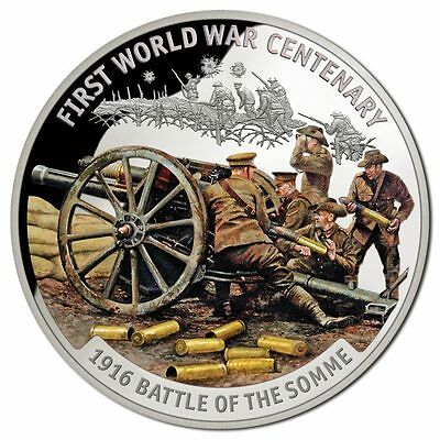 2016 $10 Battle of Somme Silver Proof Coin (SH206)