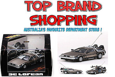 1:43 Die-Cast Back To The Future Time Machine De Lorean Part 1 Sunstar New